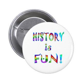 ¡La historia es diversión! Pins