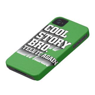 La historia fresca Bro le dice otra vez el caso iPhone 4 Protector
