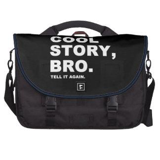 La historia fresca Bro lo dice otra vez Bolsas Para Ordenador