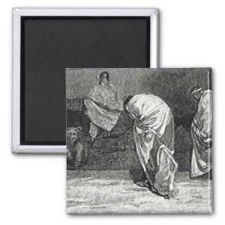 La historia ilustrada de Cassell de England Imán