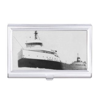 La historia marítima de Edmund Fitzgerald Great Caja De Tarjetas De Visita