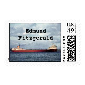 La historia marítima de Edmund Fitzgerald Great Franqueo