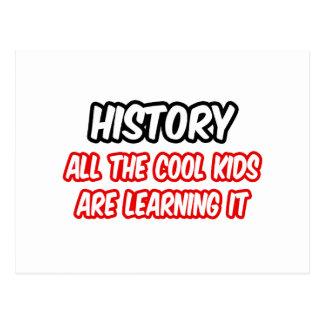 La historia… todos los niños frescos lo está apren postal