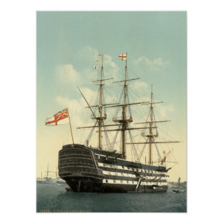 La HMS Victory de Nelson Impresiones