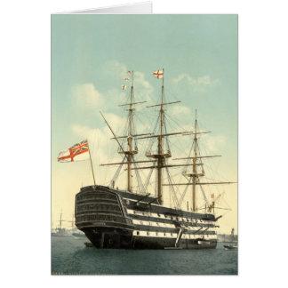 La HMS Victory de Nelson Tarjeta De Felicitación