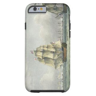 La HMS Victory que navegaba para la línea francesa Funda Para iPhone 6 Tough