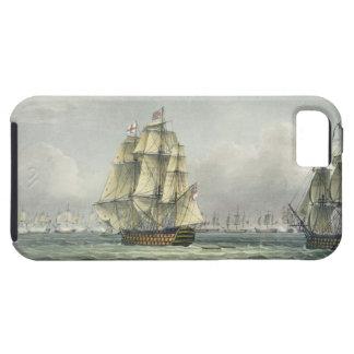 La HMS Victory que navegaba para la línea francesa iPhone 5 Funda