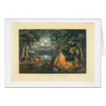 La hoguera 1866 (1779A) del trampero Tarjetón