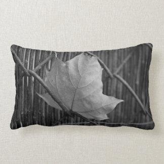 La hoja de arce seca - almohada