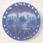 LA Hollywood cool Beverage Coaster