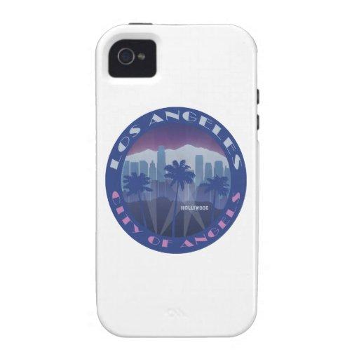 LA Hollywood fresco iPhone 4 Funda
