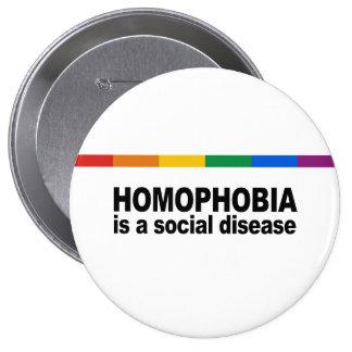 La homofobia es una enfermedad social pins
