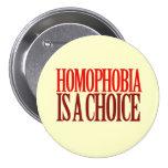 LA HOMOFOBIA ES UNA OPCIÓN PIN