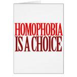 LA HOMOFOBIA ES UNA OPCIÓN TARJETÓN