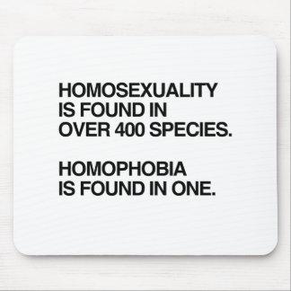 LA HOMOSEXUALIDAD SE ENCUENTRA EN 400 ESPECIES ALFOMBRILLA DE RATÓN
