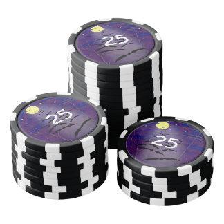 La hora Bewitching Fichas De Póquer