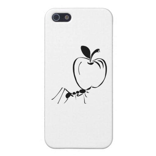 La hormiga Apple encajona iPhone 5 Carcasas