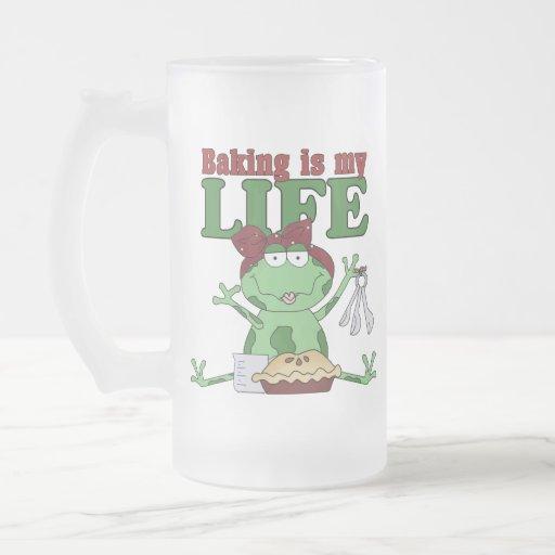 La hornada es mi vida taza de café