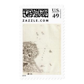 La Hougue Stamp