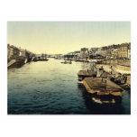 La Huelga, vintage Photochrom de Nantes, Francia Tarjeta Postal