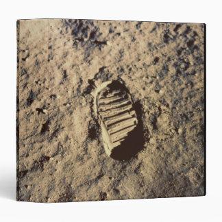 "La huella del astronauta carpeta 1 1/2"""