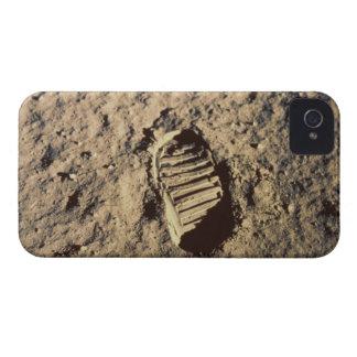La huella del astronauta iPhone 4 Case-Mate cobertura