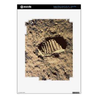 La huella del astronauta iPad 3 skin
