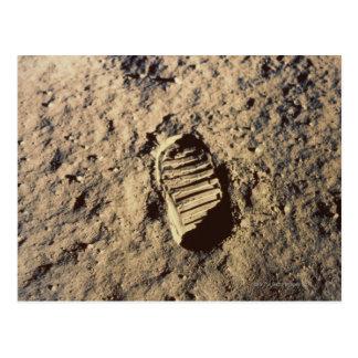 La huella del astronauta postal