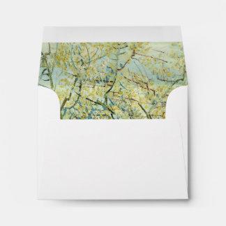 La huerta blanca de Vincent van Gogh Sobre