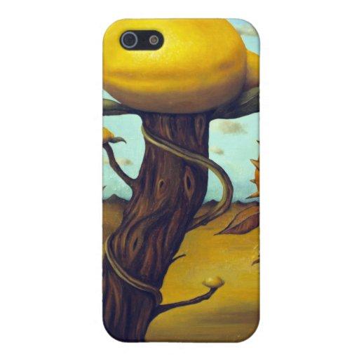La huerta de fruta iPhone 5 fundas