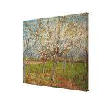 """""""La huerta rosada"""" de Vincent van Gogh (1888) Impresion De Lienzo"""