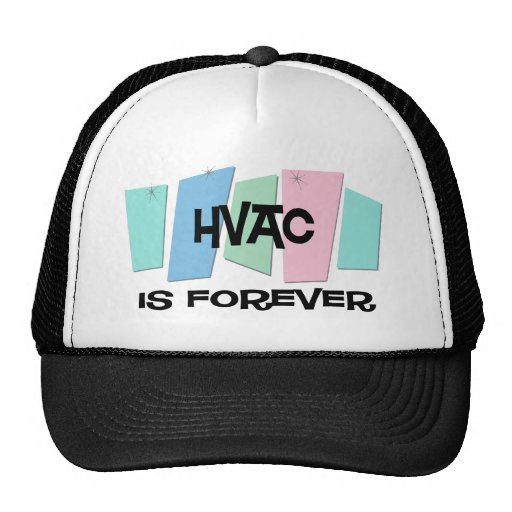 La HVAC es Forever Gorros Bordados