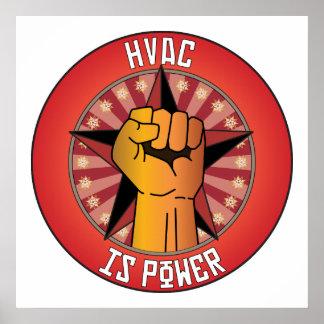 La HVAC es poder Impresiones