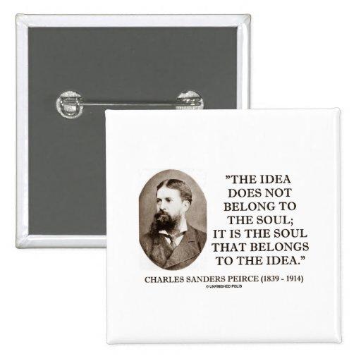 La idea de Peirce de las chorreadoras de Charles Pin Cuadrado