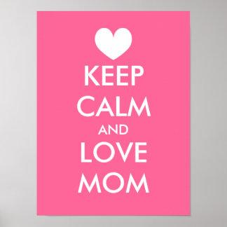 La idea el | del poster del día de madres guarda c