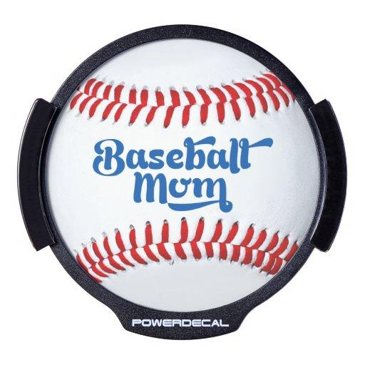 La idea LED del regalo de la mamá del béisbol Sticker LED Para Ventana