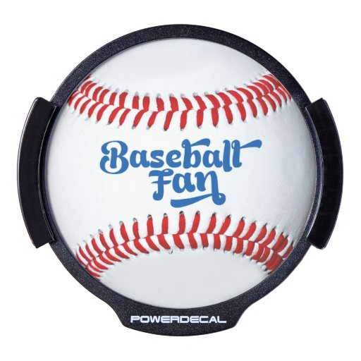 La idea LED del regalo del aficionado al béisbol Decal LED Para Ventana
