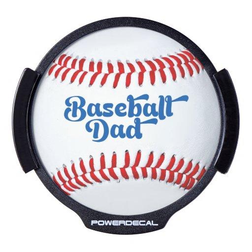 La idea LED del regalo del papá del béisbol Pegatina LED Para Ventana