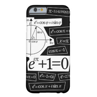 La identidad de Euler Funda Para iPhone 6 Barely There
