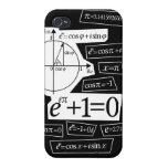 La identidad de Euler iPhone 4 Carcasa