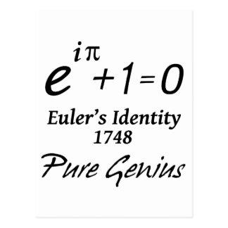 La identidad de Euler Postal