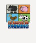 La identificación de Farmville- esté cultivando ba Camiseta