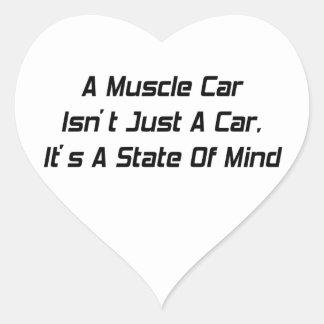 La identificación empuja bastante un coche de pegatinas de corazon personalizadas