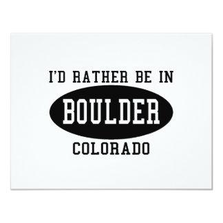 """La identificación esté bastante en Boulder, Invitación 4.25"""" X 5.5"""""""