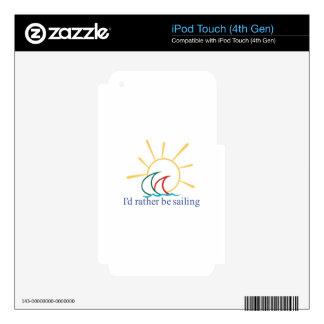 La identificación esté navegando bastante calcomanías para iPod touch 4G