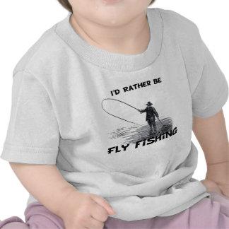 La identificación sea bastante pesca con mosca camiseta