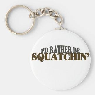 La identificación sea bastante Squatchin Llavero Redondo Tipo Pin