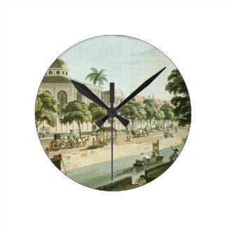 La iglesia Calvinistic en Batavia, platea 9 de 'A Relojes