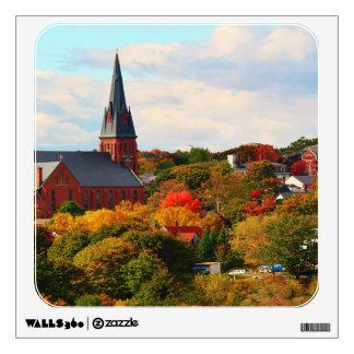 La iglesia católica de San Juan en Bangor, Maine Vinilo