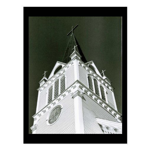 La iglesia católica de Santa Ana en la isla de Tarjeta Postal